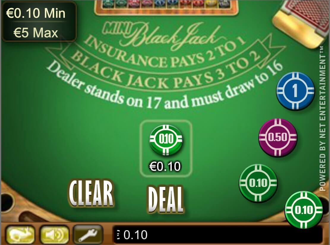Mini Blackjack